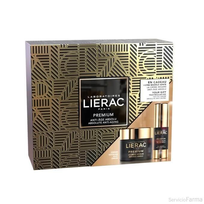 Cofre Lierac Premium Crema Sedosa + REGALO Contorno de Ojos