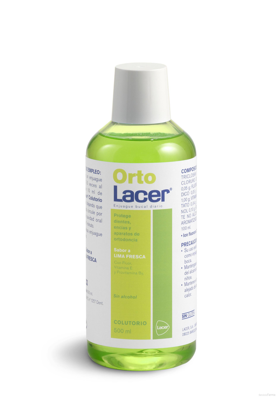 Lacer Orto Colutorio Lima fresca 500 ml