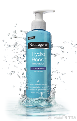 Neutrogena Hydro Boost Leche en gel desmaquillante 200 ml