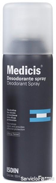 Isdin Medicis Desodorante Spray 100 ml