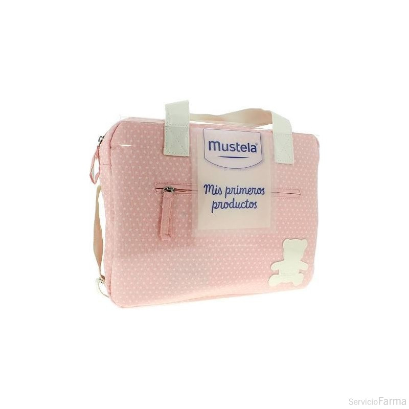 Bolsa Rosa Mis primeros productos - Mustela