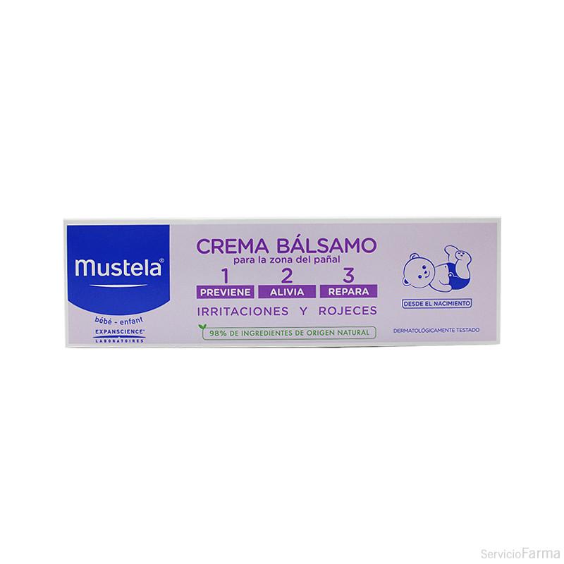 Mustela Crema bálsamo 1, 2, 3 100 ml