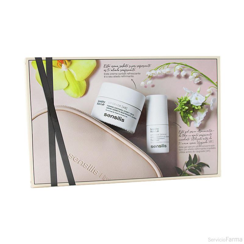 Neceser Sensilis Upgrade AR Crema sorbete 50 ml + Gel-serum 15 ml