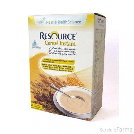 Nestlé Resource Cereal Instant 8 Cereales con miel