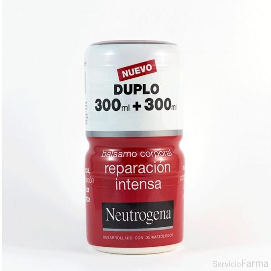 Duplo Reparación Intensa / Bálsamo corporal Piel muy seca - Neutrogena (2 x 300 ml)
