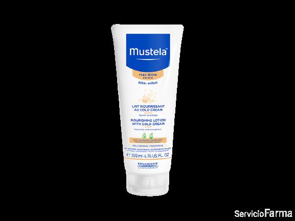Mustela Leche nutritiva al Cold Cream 200 ml