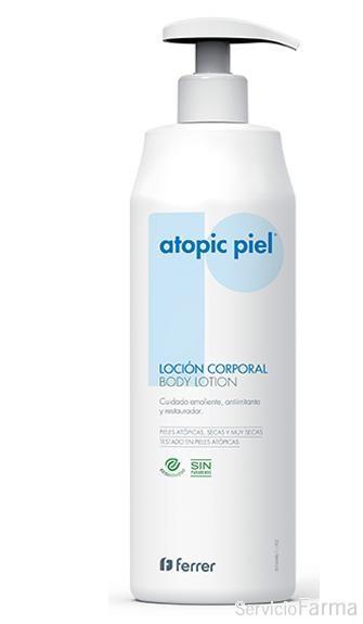 Repavar Atopic piel Loción Corporal 500 ml