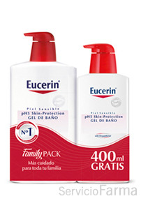Eucerin Gel de Baño pH5 1000 ml + 400 ml