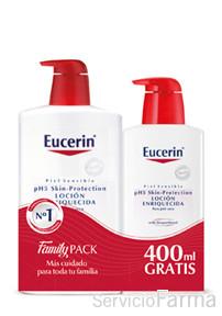 Eucerin Locion Enriquecida 1000 ml + 400 ml