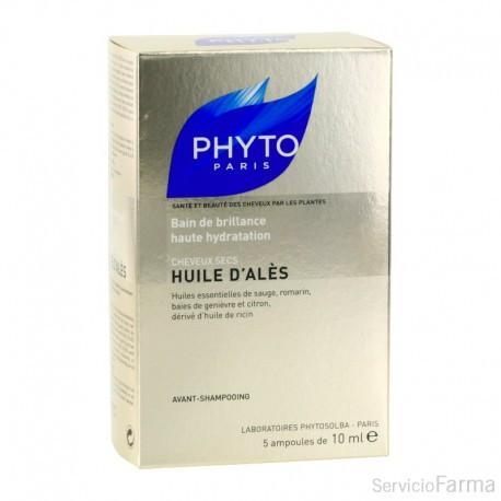 Huile D'Ales Baño de Brillo - Phyto (5 ampollas)