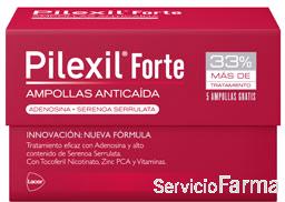 Pilexil Ampollas Forte 15 ampollas + REGALO