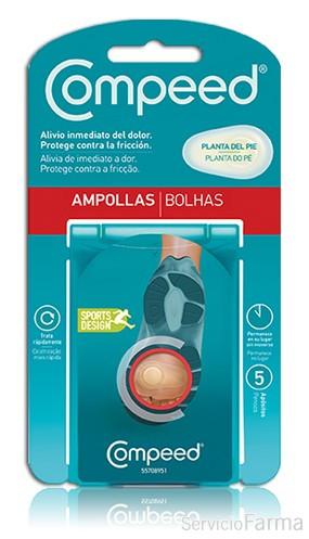 Compeed Ampollas Planta del Pie 5 Ud