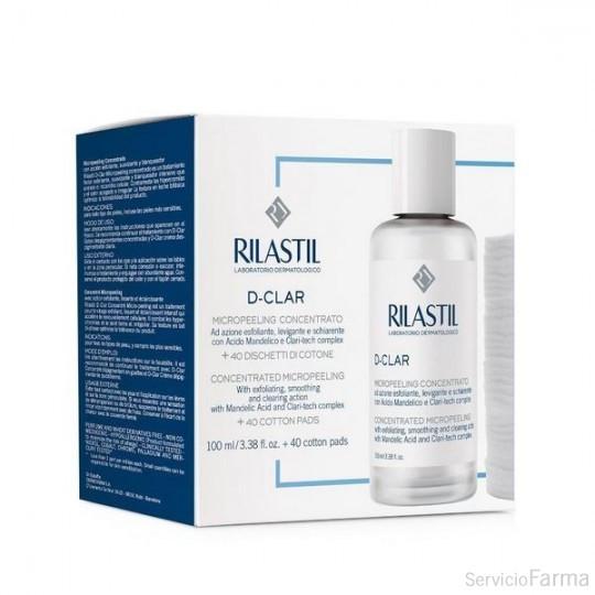Rilastil D-Clar Micropeeling Concentrado 100 ml + Discos Algodón