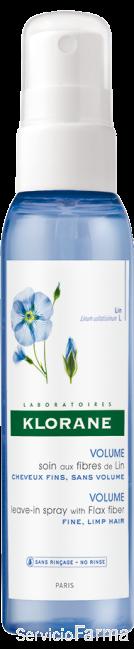 Spray a las Fibras de Lino - Klorane (125 ml)