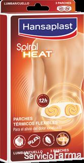 Spiral Heat Parches térmicos flexibles Lumbar y cuello