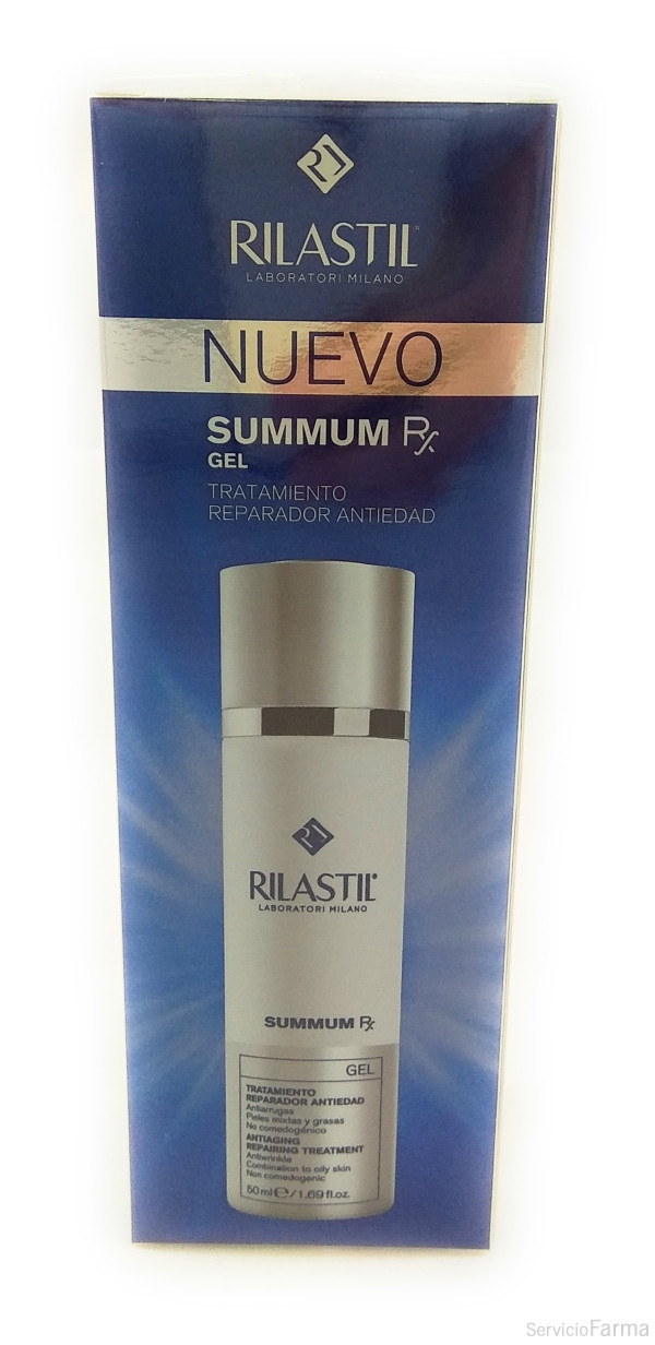 Cumlaude Rilastil Summum RX Gel antiedad 50 ml