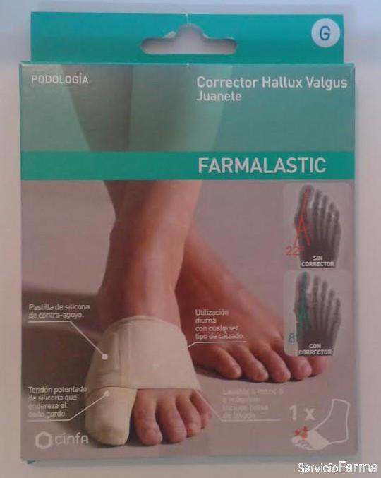 Farmalastic Corrector Juanete 1 ud - Talla G