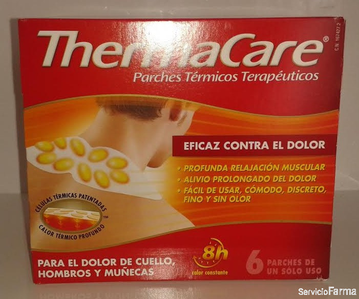 ThermaCare Parches Térmicos - 6 uds