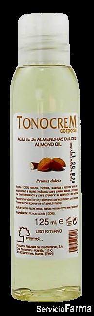 Tonocrem  Aceite de Almendras Dulces 125 ml