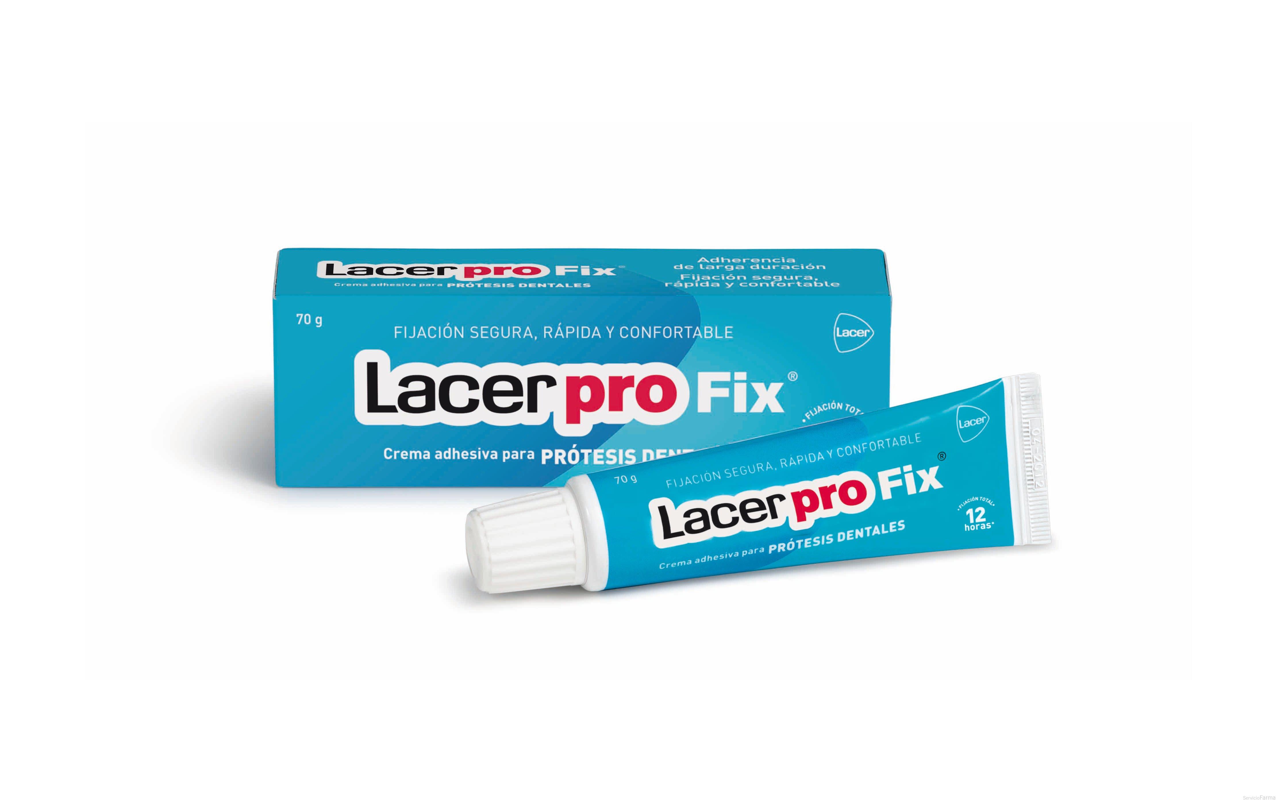 Lacer Pro Fix crema adhesiva 70 g