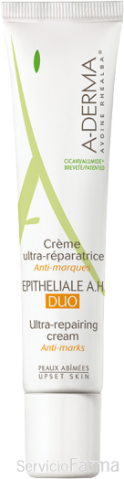 Epitheliale A.H. Duo / Crema ultrareparadora antimarcas - Aderma (40 ml)
