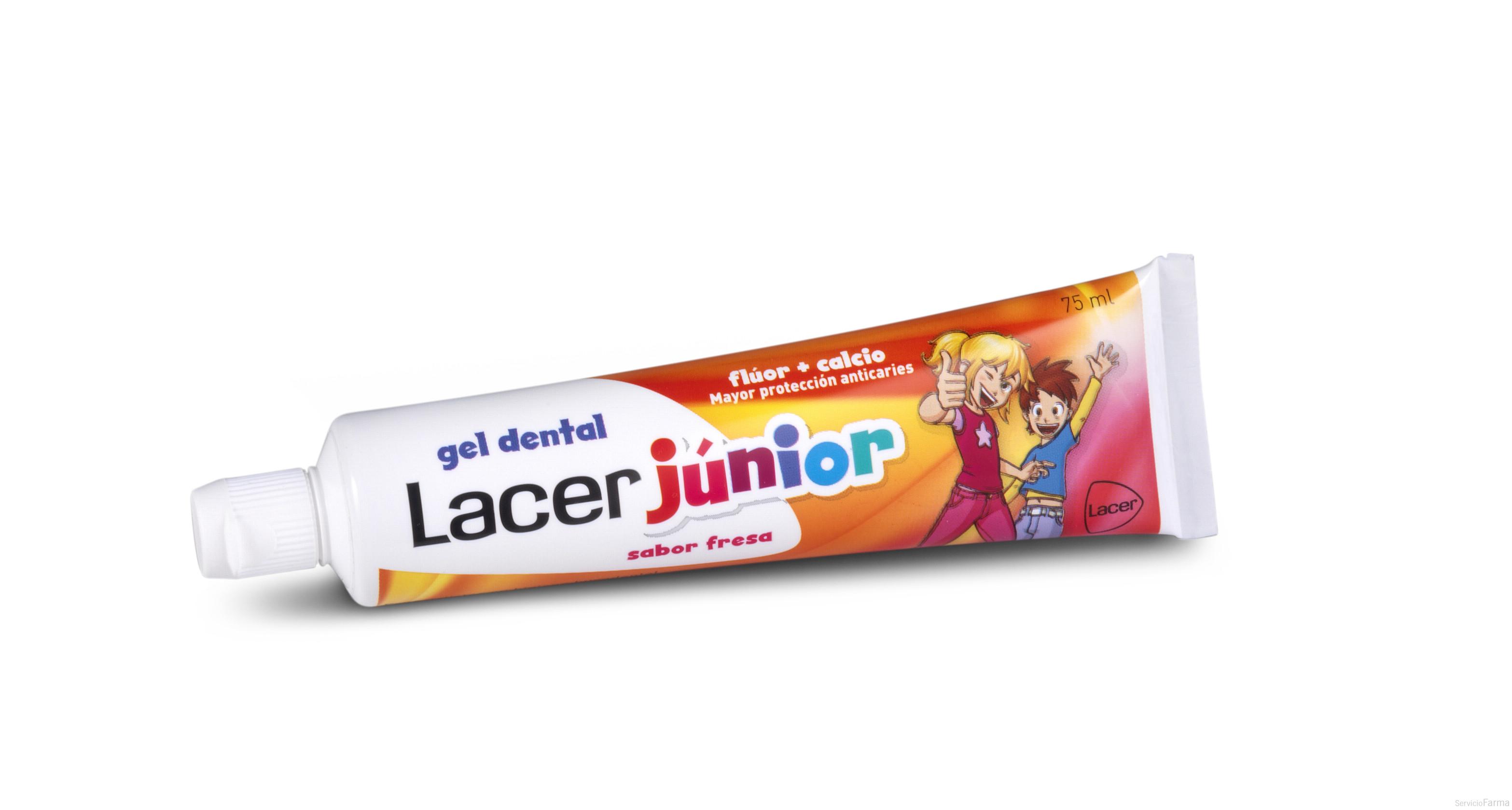 Lacer Junior Gel Dental Fresa 75 ml