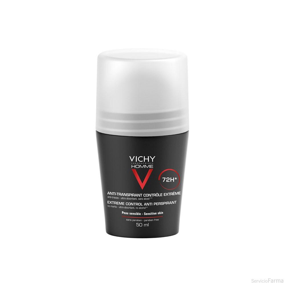 Vichy Homme Desodorante Antitranspirante Control Extremo 72h 50 ml