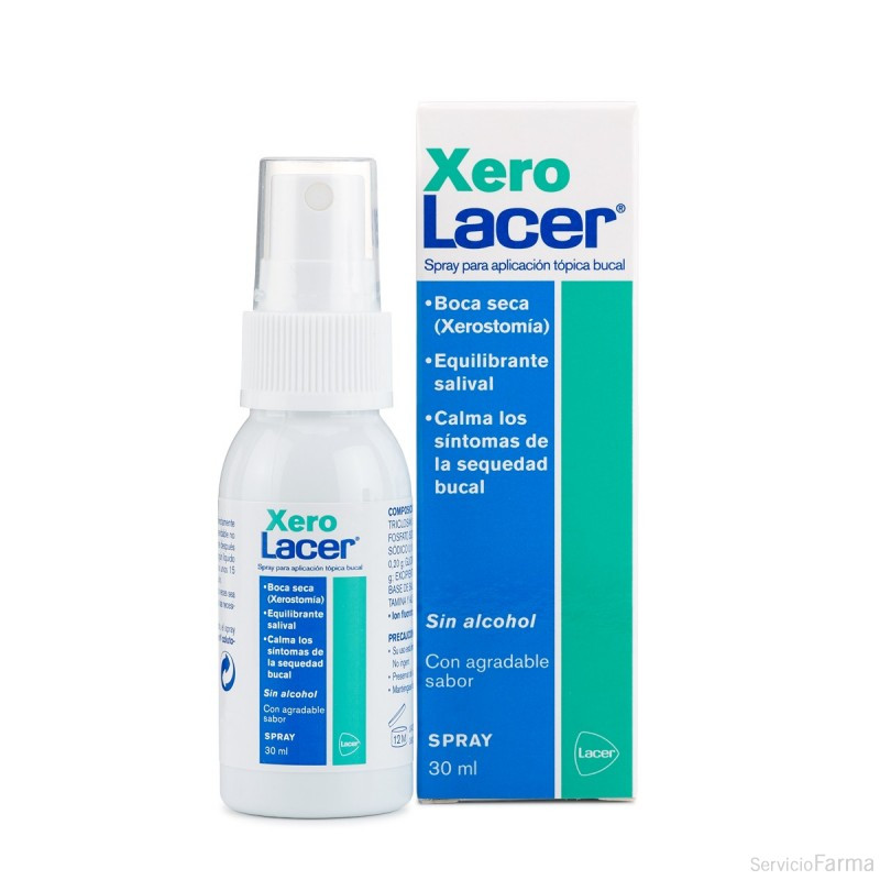 Xero Lacer Spray Boca seca 30 ml