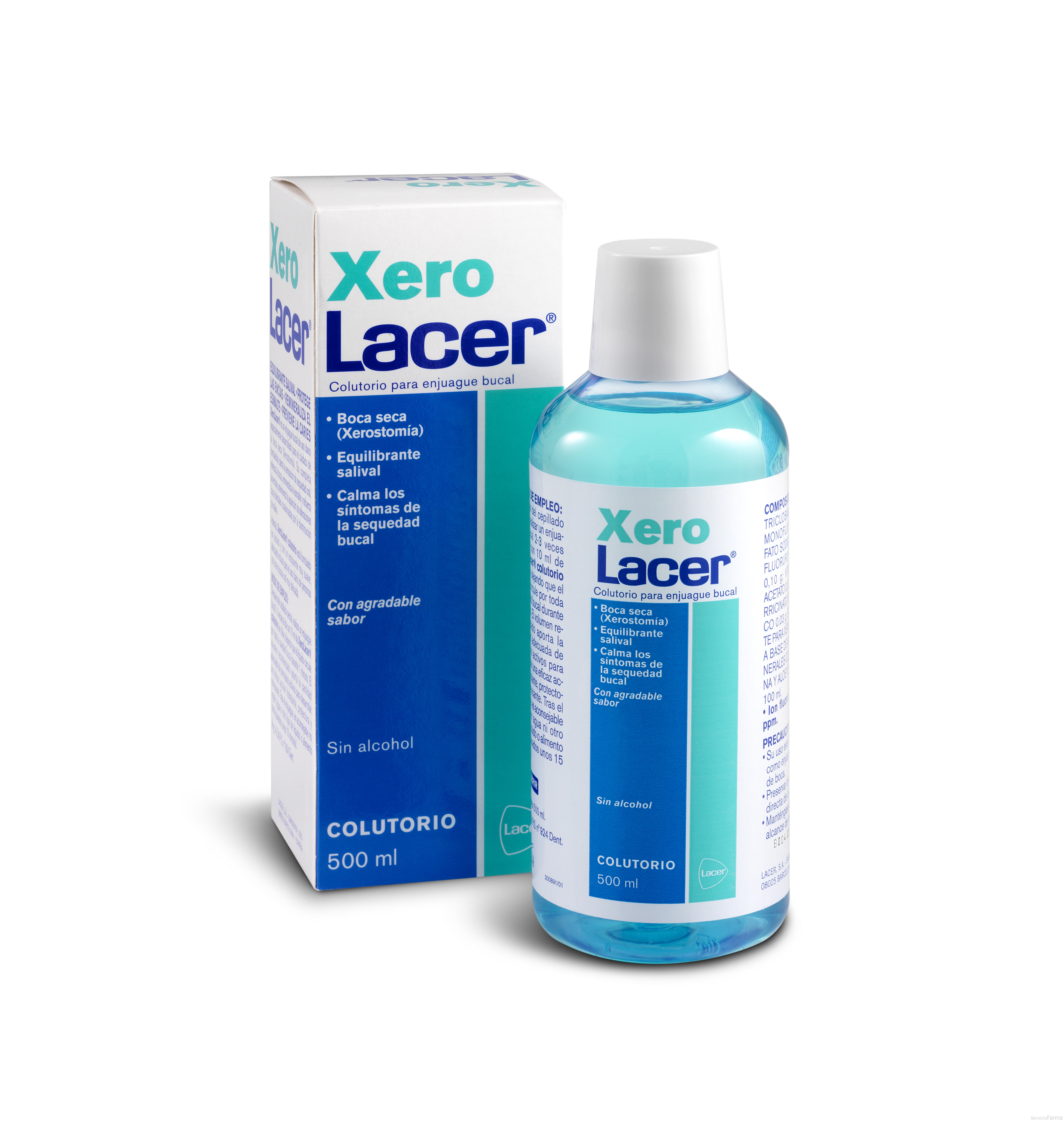 Lacer Xero Colutorio 500 ml