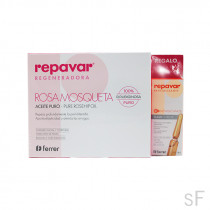 Repavar Rosa mosqueta Aceite puro + REGALO 1 ampolla FLASH EXTREME
