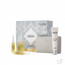 Cofre Lierac Cica Filler Serum Antiarrugas Reparador 3 Ampollas + REGALO Crema Cica Filler + Cartera