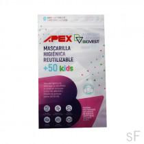 Apex Mascarilla Higiénica Kids 10-12 Años