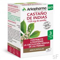 Arkocápsulas Castaño de Indias BIO 84 cápsulas Arkopharma