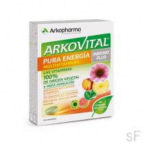 Arkovital Pura energía Inmunoplus Multivitaminas 30 comp Arkopharma