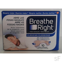 Breath Right Clásicas 10 uds