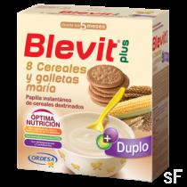 Blevit Plus 8 Cereales y Galleta María