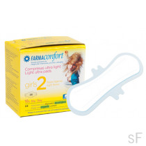 Farmaconfort Girls 2 / Compresas Ultra Light Día 10 uds
