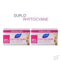 DUPLO Phytocyane Tratamiento Anticaída  / Phyto 12 ampollas