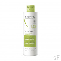 Aderma BIOLOGY Leche desmaquillante dermatológica hidra-limpiadora 400 ml