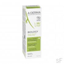 Aderma BIOLOGY Crema Ligera dermatológica hidratante 40 ml