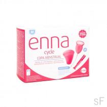 Enna Cycle Copa menstrual TALLA M 2 unidades y aplicador