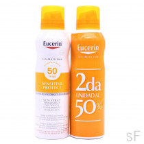 Duplo Eucerin Sun Spray Transparente Dry Touch Sensitive Protect SPF50