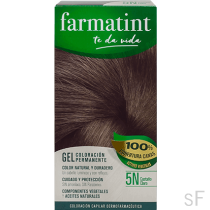 Farmatint Gel Coloración permanente 5N Castaño claro
