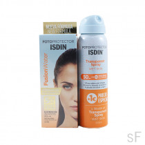 Pack Isdin Fusion Water SPF50+ 50 ml + Transparent Spray 100 ml