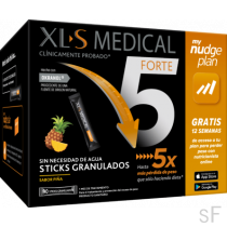 XLS Medical Forte 5 90 Sticks Granulados Sabor Piña