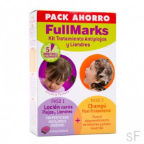 Pack Ahorro FullMarks Kit Tratamiento antipiojos y liendres