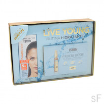 Pack Live Young Fusion Water + Hyaluronic Booster Rutina Hidratante