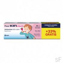 FluorKin Infantil Pasta Dentífrica Sabor fresa 75 ml