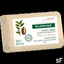 Klorane Jabón crema Manteca de Cupuaçu Flor de Cupuaçu 100 g