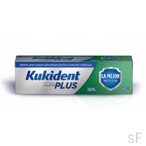 Kukident Pro Plus Crema Adhesiva La mejor protección Tamaño Ahorro